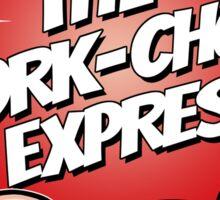 Pork Chop Express - Original Logo Brighter Red Variant Sticker