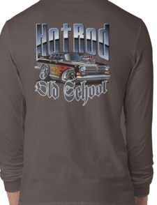 Cartoon Hot Rod Long Sleeve T-Shirt