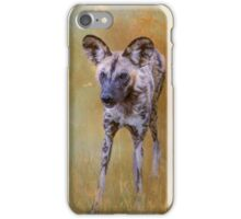 African Wild Dog! iPhone Case/Skin