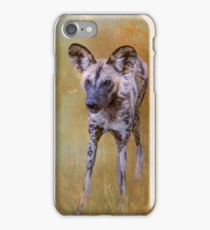African Wild Dog! iPhone Case/Skin