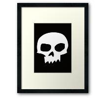Toy Story Sid Skull  Framed Print