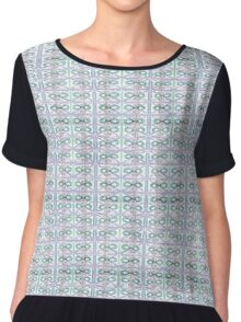Loops all over Chiffon Top