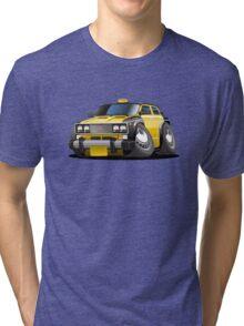 Cartoon taxi car Tri-blend T-Shirt