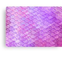 Mermaid's scales Canvas Print