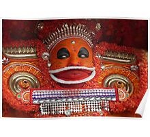 the theyyam dancer Poster