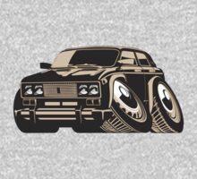 Cartoon car One Piece - Short Sleeve