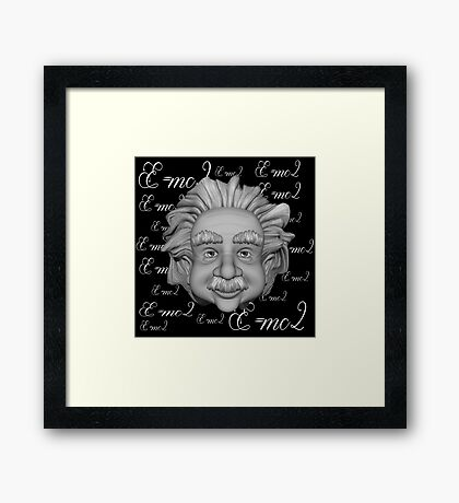 Big Head Al 3 Framed Print