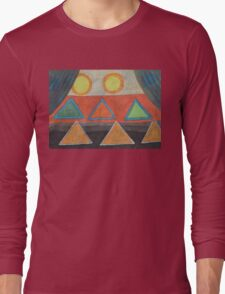 Clear the Stage for The Geometry Show Long Sleeve T-Shirt
