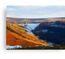 Evening At The Horseshoe Pass Canvas Print