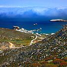 Low clouds over the Aegean - Folegandros island by Hercules Milas