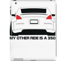 Other Ride Is a 350z iPad Case/Skin