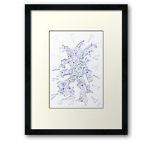 0302 - Metamorphic Man Starting To Move Framed Print