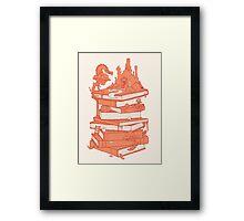 Magic of books Framed Print