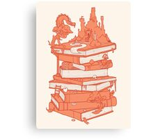 Magic of books Canvas Print