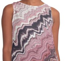 Spring cherry blossom abstract Contrast Tank