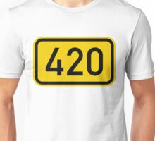 420 sign Unisex T-Shirt