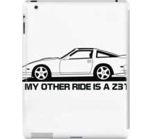 Other Ride is a z31 iPad Case/Skin