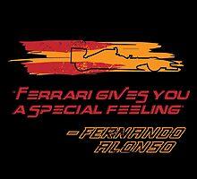 Fernando Alonso Ferrari by sportskeeda