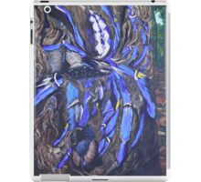 Poecilotheria metallica iPad Case/Skin