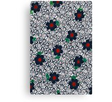 Multicolor flower Canvas Print