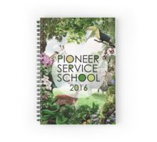 Pioneer Service School 2016 (Design no. 4) Spiral Notebook