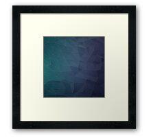 Elegant Low Poly WEB Framed Print