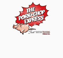 Pork Chop Express - Distressed Variant Womens Fitted T-Shirt