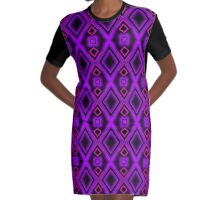 Cath Sola Geo 11 Graphic T-Shirt Dress