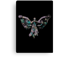 Colourful Clockwork Angel Canvas Print