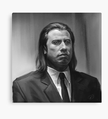 Vincent Vega Canvas Print