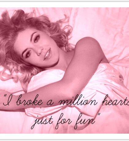 Marina And The Diamonds Quote Sticker