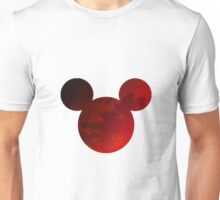 Mouse Head Inspired Silhouette Unisex T-Shirt