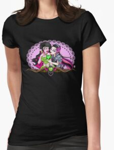 Be My Snow White  Womens Fitted T-Shirt
