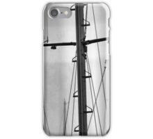 Masts In The Mist iPhone Case/Skin