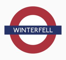 Game of Thrones Winterfell tube stop by monsterplanet