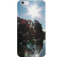 Light Refractions on a Dam 11 iPhone Case/Skin