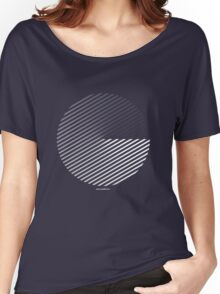 Stripes can be in a disc Women's Relaxed Fit T-Shirt