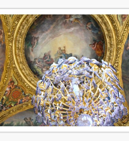 Versailles Chandelier Sticker