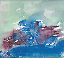 Rainy day truck! by Judy Niemi