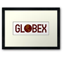 GLOBEX Corporation Framed Print