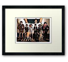 ONE PIECE #01 Framed Print