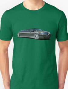 Cartoon limousine Unisex T-Shirt
