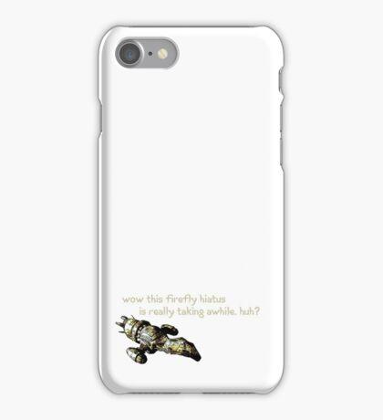 Firefly Hiatus iPhone Case/Skin
