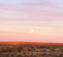 Full Moon during Sunset by jessicatalia