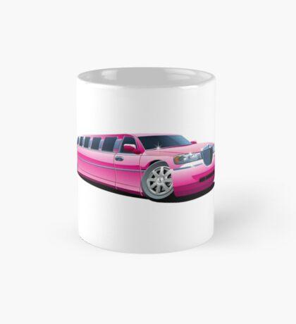 Cartoon limousine Mug