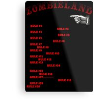 This tall to ride Zombieland Metal Print