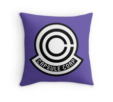 Capsule Corporation Throw Pillow