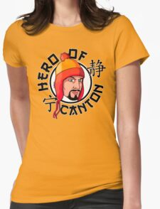 Hero Of Canton Womens Fitted T-Shirt