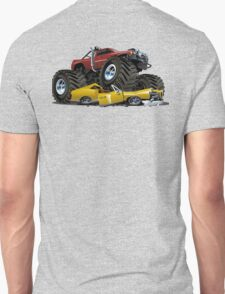 Cartoon monster truck Unisex T-Shirt