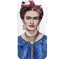 Hommage to Frida Kahlo iPhone Case/Skin